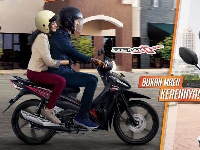 HONDA REVO X MOTOR HONDA KLATEN