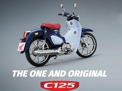 HONDA SUPERCUB C125 MOTOR HONDA KLATEN
