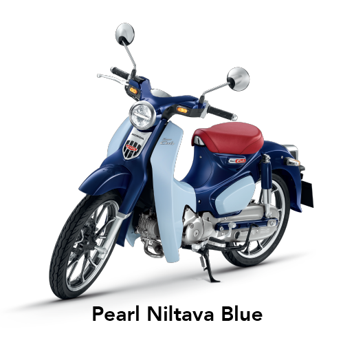 Pilihan Warna HONDA SUPERCUB C125 MOTOR HONDA KLATEN