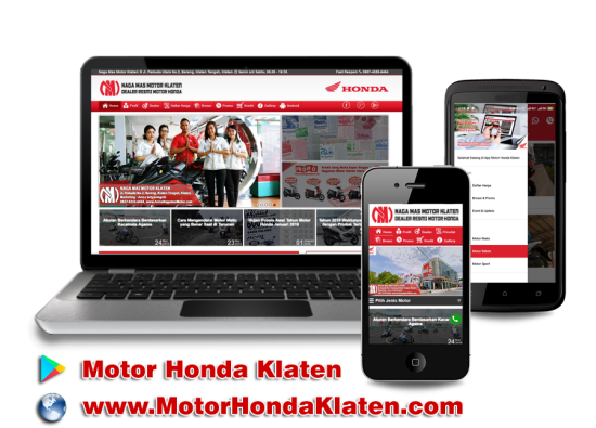 Aplikasi Android <br/>''Motor Honda Klaten''