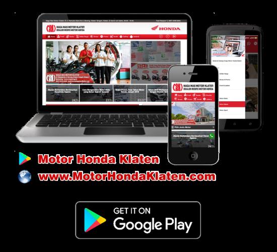 Aplikasi Android Motor Honda Klaten di Playtore